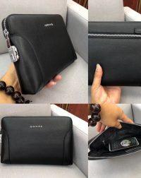 Cltuch ví cầm tay khóa số Gucci