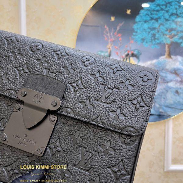 Vi-Clutch-Louis-Vuitton-S Lock A4 Pouch (4)